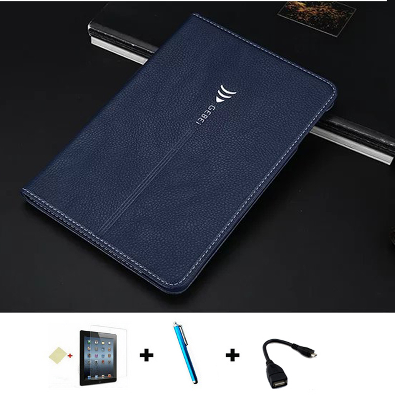 OTG+stylus+film T715C case For Samsung Galaxy Tab S2 8.0 T710 T715 Case luxury Leather Stand Case Cover for Samsung Tab S2 8