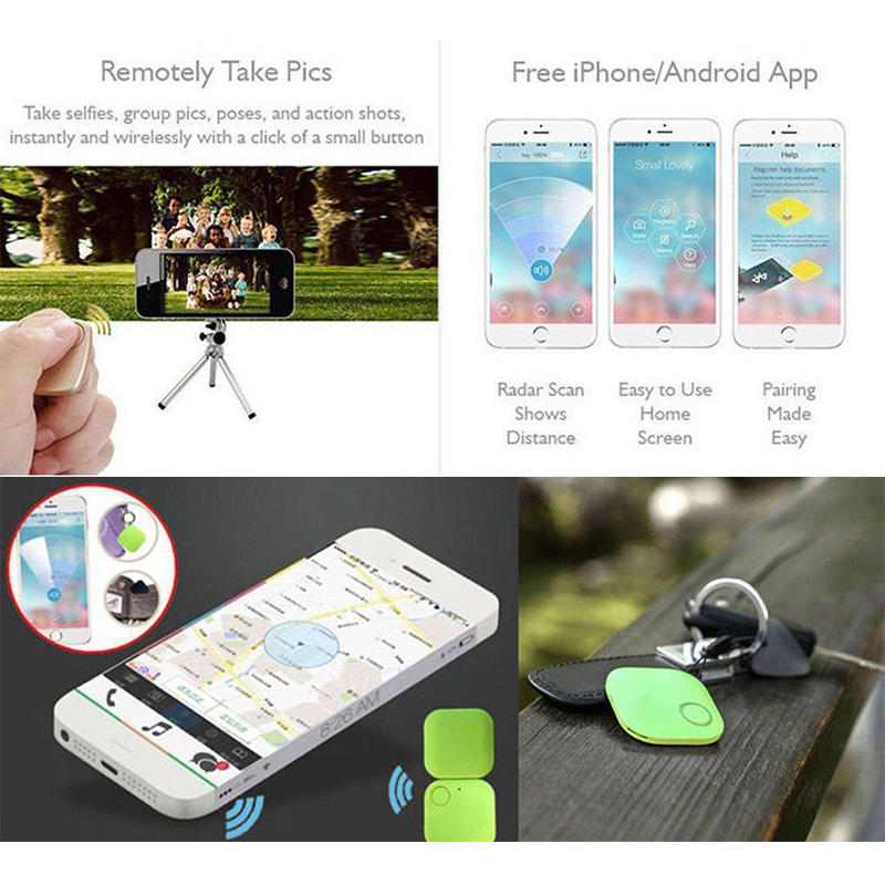 Fornorm Mini Bluetooth Tracker Personal Smart Finder Child