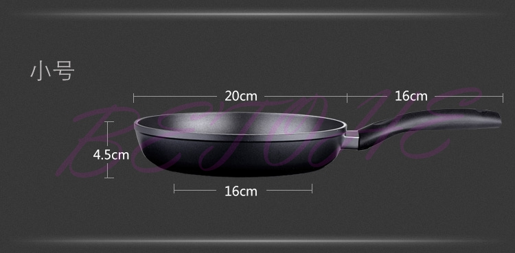 BETOHE Healthy Nonstick aluminum alloy Frying Pan Eco Fry Pan Skillet cookware whitford nonstick kitchen