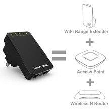 300 Мбит/с N300 мини Портативный Wi-Fi роутера/точка доступа беспроводной Range Extender Wi-Fi усилитель сигнала Усилители домашние 802.11N/B /G wavlink
