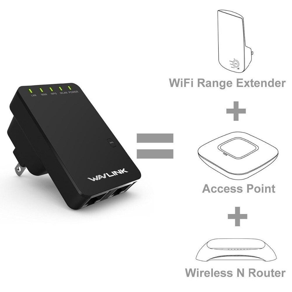 Wavlink 300 Мбит Мини Портативный N300 Wi-Fi роутера/точка доступа беспроводной Range Extender Wi-Fi усилитель сигнала Усилители домашние 802.11n/ b/g