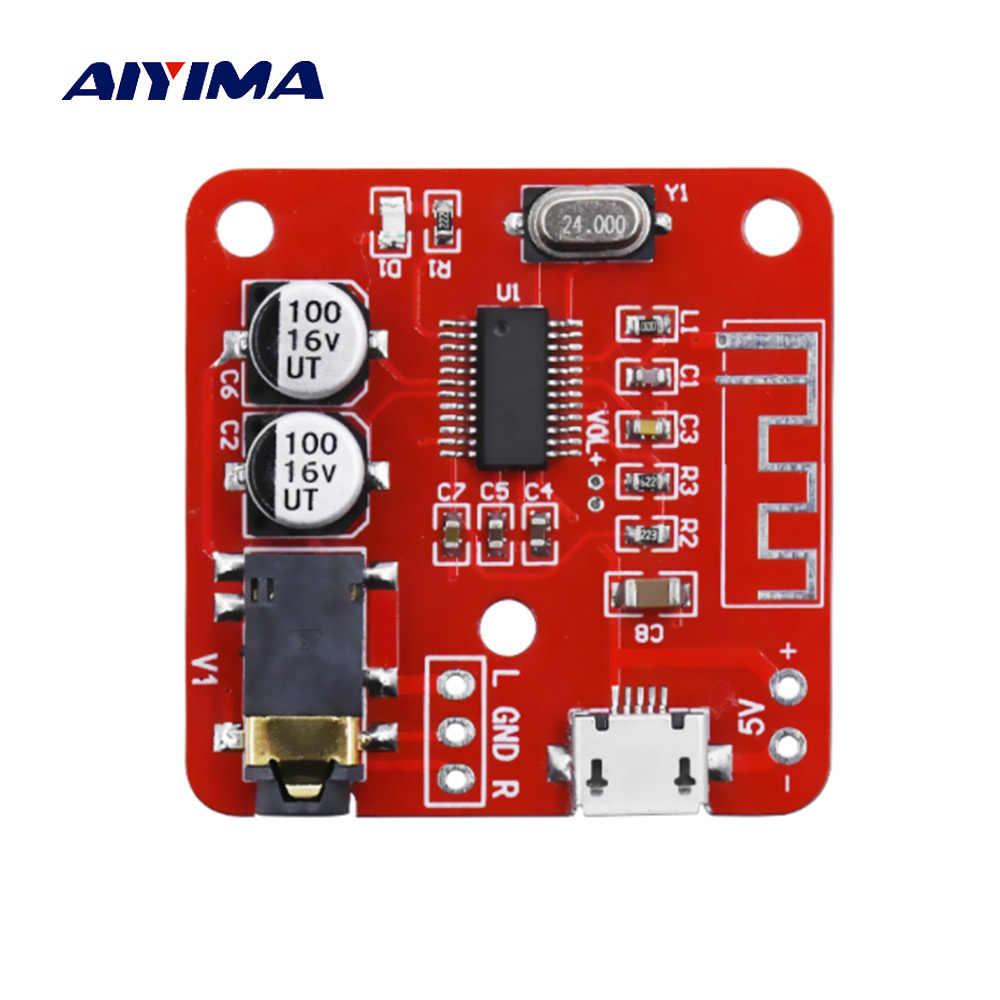 Aiyima placa receptor de áudio bluetooth lossless bluetooth 4.2 placa decodificação mp3 sem fio diy modificado sem fio alto-falante