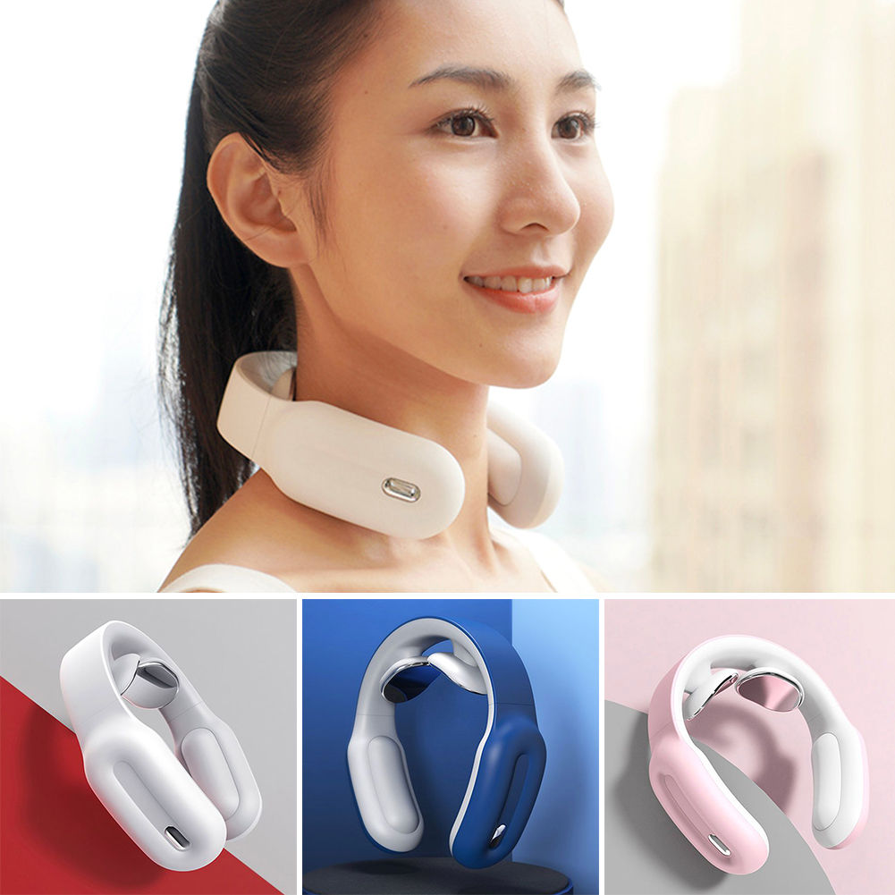 Multifunctional Physical Therapy Cervical Vertebra Remote Control Smart Shoulder And Neck Relaxation Massager Pain Relief Tool