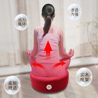 1pc moxa Box With Burning Moxa Stick For Yoga Body Relax Acupuncture Soft Heat Moxibustion Therapy Cushion With Moxa Burner
