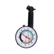 Система контроля давления в шинах 0-50 фунтов/кв. дюйм датчик давления в шинах циферблат колесо измерителя давления воздуха тестер для авто двигателя автомобиля грузовика
