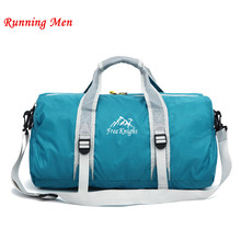 Unisex 210 Waterproof nylon Large Capacity Ultralight Foldable outdoor gym bag sports bags Travel Duffle Bags Sports bag