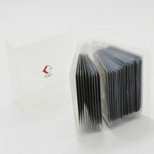 e87272446 1 bolsillo 40 transparente titular tarjetas protector juego de tarjeta  páginas portátil álbum mangas para mgt tarjetas comercial.