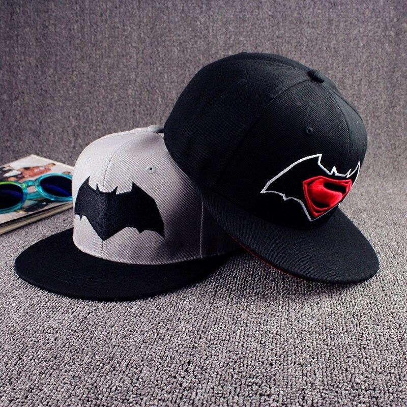 Superman Snapback Caps Sport Hip Hop Hats Fashion Batman Baseball Cap Bone Gorras For Men Women Summer Casual Outdoor Hat w184 цена