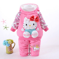 Retail Baby Girl Clothes Newborn Autumn Winter Toddler Infant Baby Girls Suit Fashion Cartoon Long Sleeve