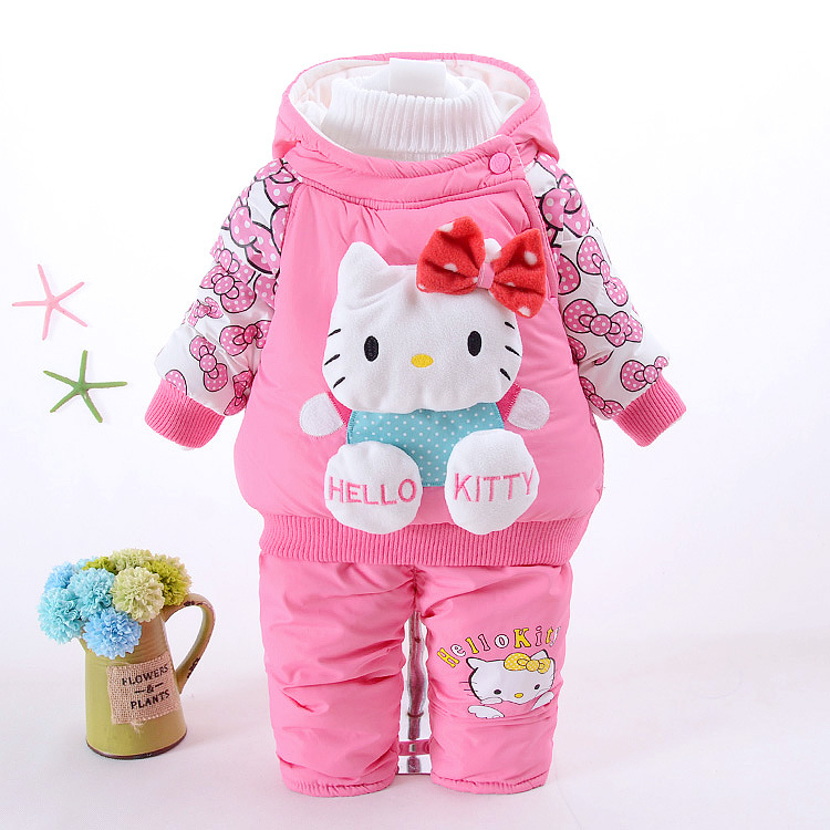 Retail baby girl clothes newborn autumn & winter toddler infant baby girls suit fashion cartoon long sleeve clothing set cotton baby rompers set newborn clothes baby clothing boys girls cartoon jumpsuits long sleeve overalls coveralls autumn winter
