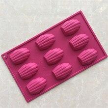 Силиконовая форма для торта Madeleine, инструмент для печенья, ручной работы, легко снимается, форма для печенья, печенья, шоколада, советы для выпечки