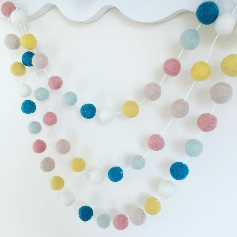 Colorful Ball Hangings Baby Room Decoration Kids Boys Girls Party Hanging Tent Decorations For Children Bed Room Hanging Decor