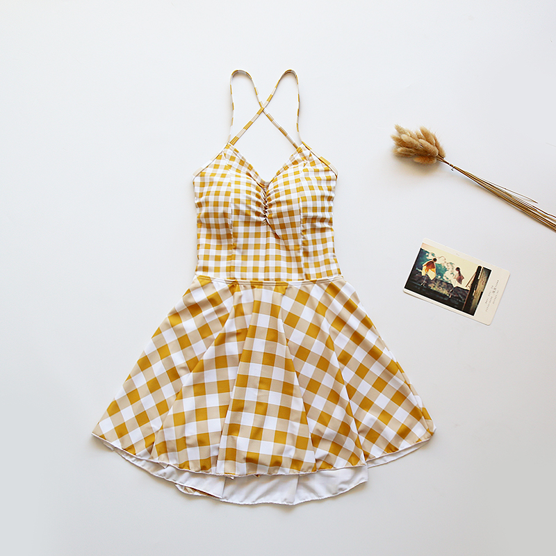 (Autumn after parting) Swimming suit womens conjoined skirt, conservative small chest, swimming suit women(Autumn after parting) Swimming suit womens conjoined skirt, conservative small chest, swimming suit women