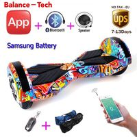 Hoverboard Self Balance Scooters 8 Inch Two Wheel Smart Board Oxboard Electric Hoverboard Skateboard APP Hover
