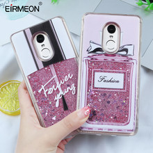 For Xiaomi Redmi Note 5 Note 4 4X 5 Pro 5 Plus Case Liquid Glitter Quicksand Bling Floral Soft TPU Case For Redmi 4X 4A S2 Cover(China)