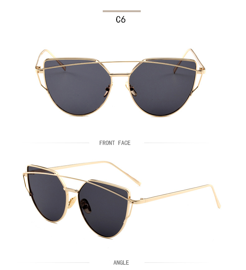 97745fad59 Ocean Lens Cat Eye Sunglasses – Mart 53 – Online Shopping