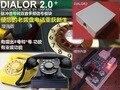 2016 versión normal de transferencia de doble tono multifrecuencia DTMF convertidor de Impulsos versión El viejo teléfono de línea/módulo de pulso dual