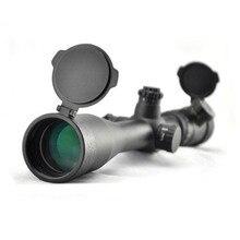 "Visionking 4 16x44 צד פוקוס Riflescope עמיד למים Mil Dot Riflescope לציד טקטי רובה היקף עם 11 מ""מ הר טבעות"