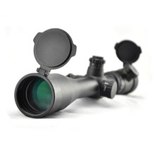 Visionking 4 16x44 Side Foco Riflescope Mil Dot Riflescope Para A Caça Rifle Tático À Prova D Água Com 11mm Mount Anéis