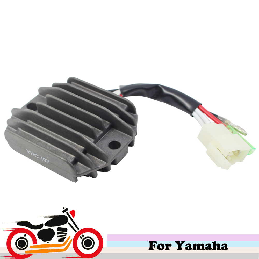 12V Motorcycle Regulator Voltage Rectifier for Yamaha Big Bear 350 4x4 California Maine YFM 350 Wolverine YFB 250 Timberwolf 4x4