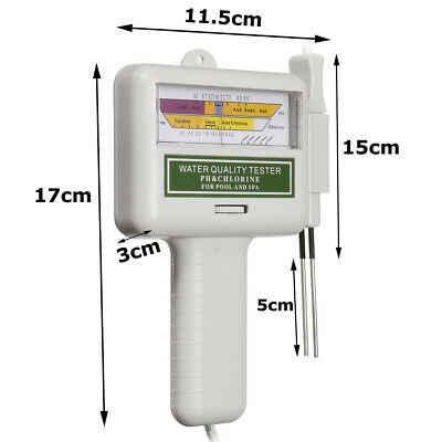 Портативный PH-метр PC101, измеритель качества воды, тестер PH/CL2 уровня хлора
