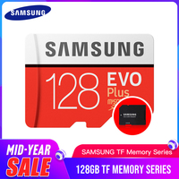 SAMSUNG Memory Card micro sd 128GB EVO Plus Class10 Waterproof TF Memoria Sim Card For smart phones