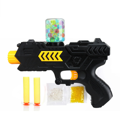 Water Crystal Gun 2-in-1 Paintball Soft Bullet Kids Toy Game Water Bullet Gun Children Gift