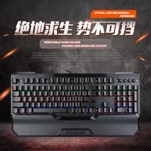 mechanical gamer keyboard usb tastatur teclado gaming clavier klawiatura pc mechanic backlit computador led teclas mecan