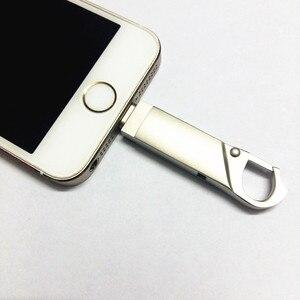 Image 1 - I フラッシュドライブ 16 グラムギガバイト 32 64 ギガバイトマイクロ Usb ペンドライブ雷/Otg Usb フラッシュドライブための iphone X/5 s/5c/7/6 プラス/ipad/iphone 8 ペンドライブ