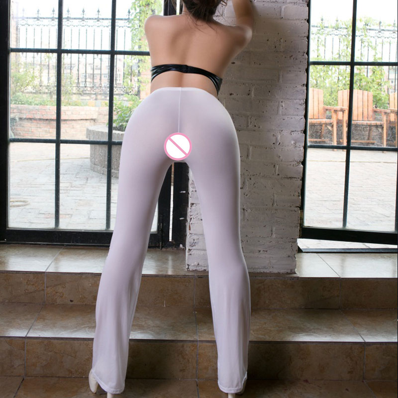See Through Yoga Pants Panties