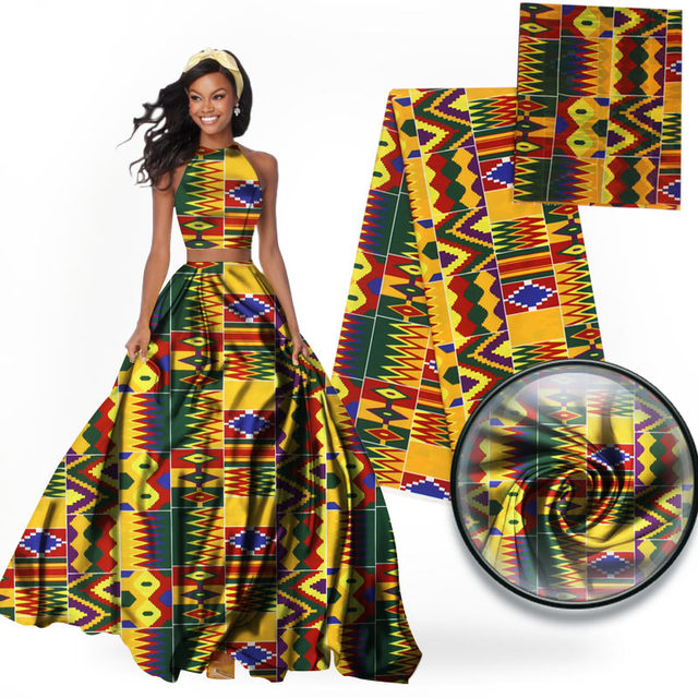7cf15c395e6 imitated silk fabric african print fabric 6yard per lot african fabric  wholesale nigerian ankara fabrics 2018 africain tissu wax
