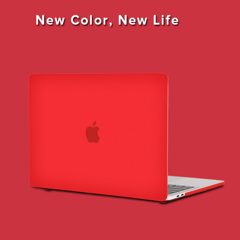 Frosted Transparent Matte Laptop Case Cover  For Apple MacBook New Air Pro Retina 11 12 13 15 inch for mac book with Touch Bar