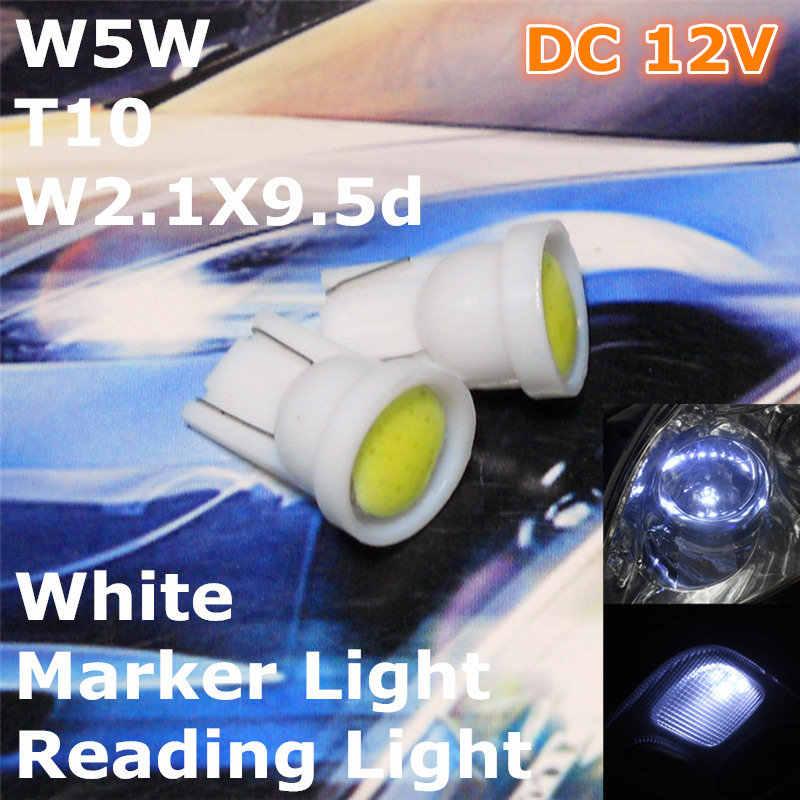 12 V LED Weiße Farbe Auto T10 (Neue COB Lampe) W5W, 5d für Trunk-Boot Lizenz bord Leselampe