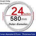 Поворотная пластина из алюминиевого сплава для кухонной мебели Lazy Susan  1 шт.  24 дюйма  58 см  большие алюминиевые пластины  обеденный стол