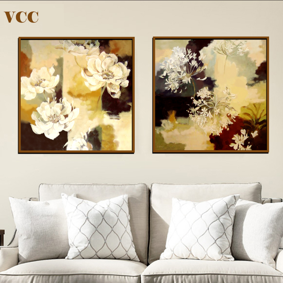 Living Room Paintings Vcc Wall Art Canvas Painting Flowers Picture Wall Pictures For Living Room Paintings On The Wall Canvas Prints Home Decor In Painting Calligraphy