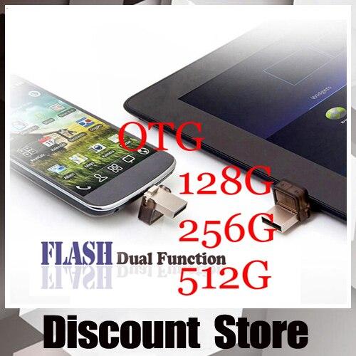 Gerçek Kapasite Akıllı Telefon OTG Harici Depolama mini Kalem Sürücü 32 gb 64 gb 128 gb 256 gb 512 gb USB Flash Sürücü Pendrive Bellek sopa