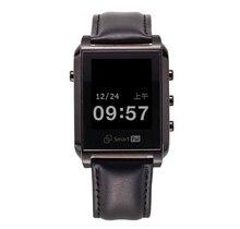 smart watch Sapphire screen Leather Smart Watch Clock Pedometer Bluetooth Wristwatch For iPhone7 7Plus For Samsung Huawei Ga