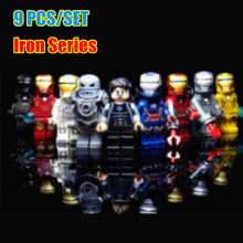 New SuperHeroes Ironman Thanos fit legoings Avengers Tower 4 endgame marvel figures Model Building Block Bricks Boy Kid Gift Toy