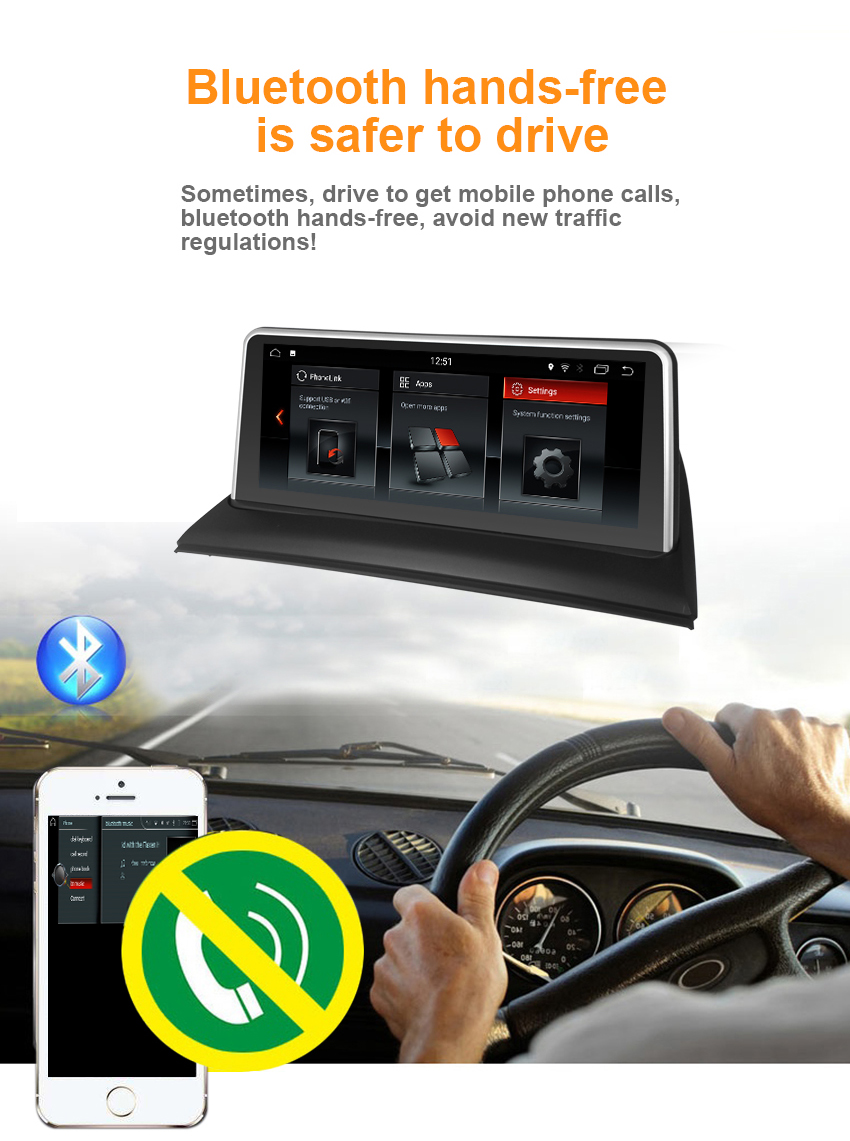 10Koason 10.25 Inch IPS Touch Screen For BMW X3 E83 Android 7.1 System 2+32G RAM GPS Navi Multimedia Player MP5 Stereo WIFI BT AUX
