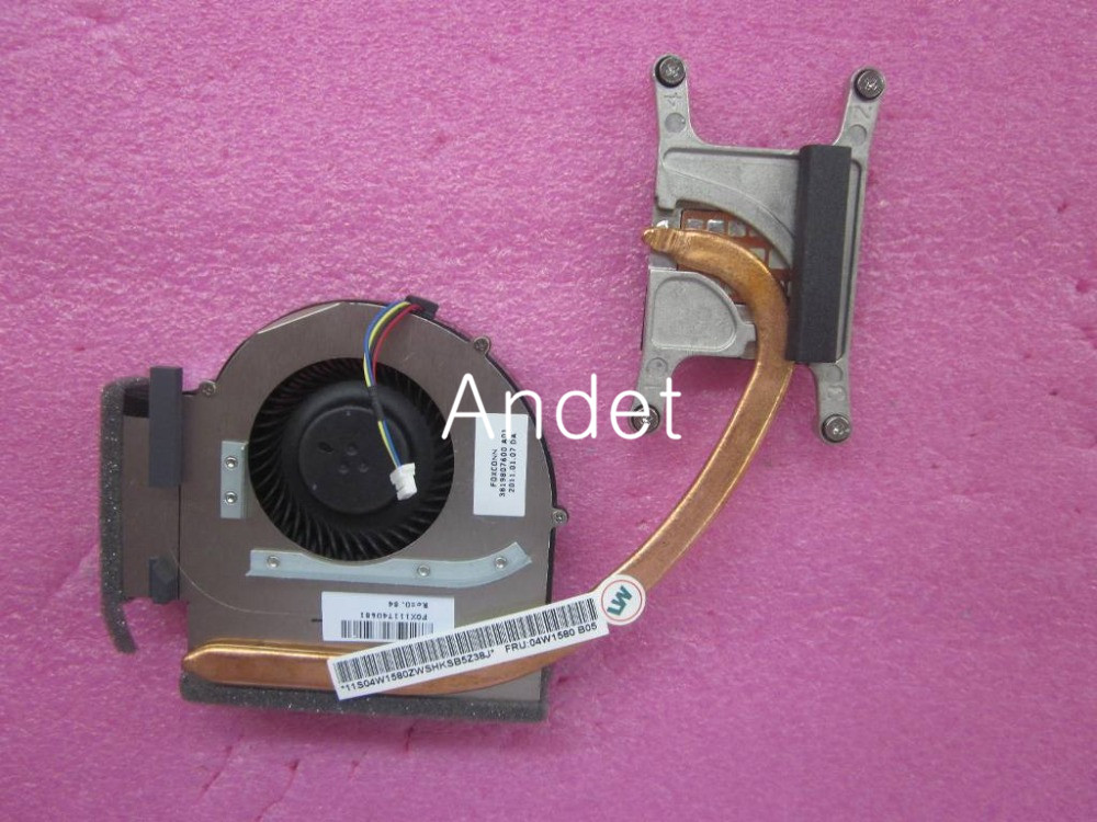 New Original for Lenovo ThinkPad T520 T520I CPU Cooling Fan Heatsink Thermal Module fit Integrated Graphics 04W1580 75Y5792 genuine for lenovo thinkpad e440 e540 cpu cooling fan heatsink 04x4159