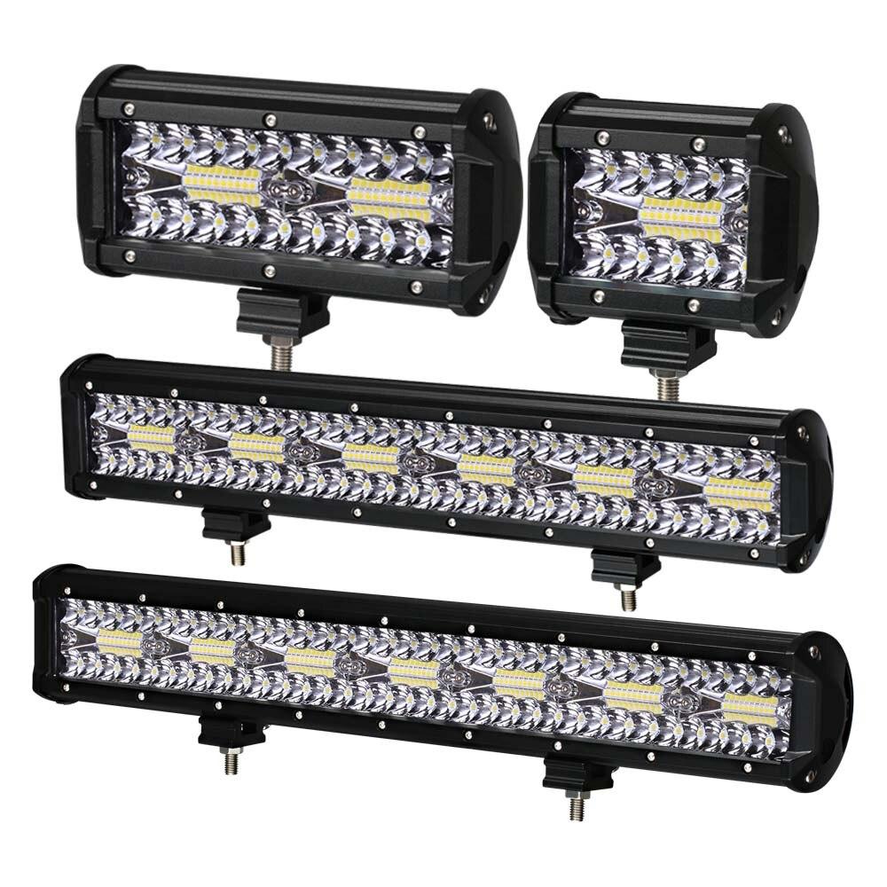 LED Bar 4 - 32 inch LED Light Bar LED Work Light for Car Tractor Boat OffRoad Off Road 4WD 4x4 Truck SUV ATV Driving 12V 24V