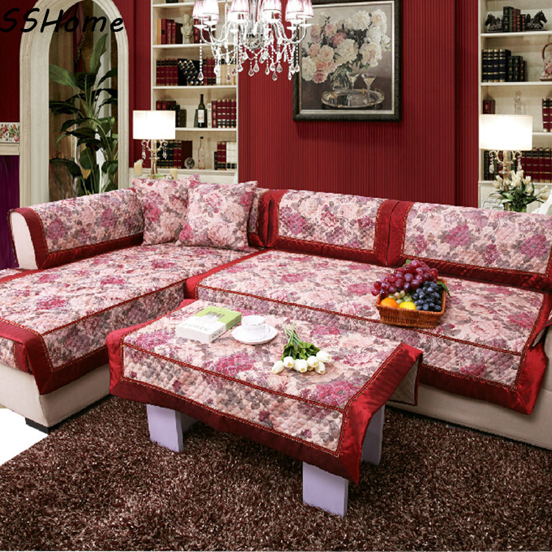 fashion letze quilting slip resistant sofa cushion quilting fabric sofa set sofa towel sofa. Black Bedroom Furniture Sets. Home Design Ideas