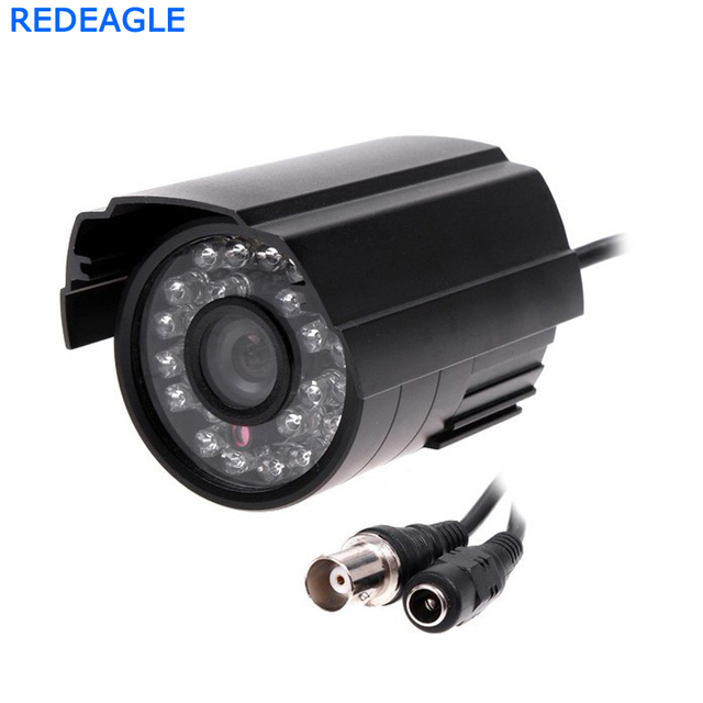 Цветная камера видеонаблюдения 900TVL с 24 светодиодный ными ИК фильтрами