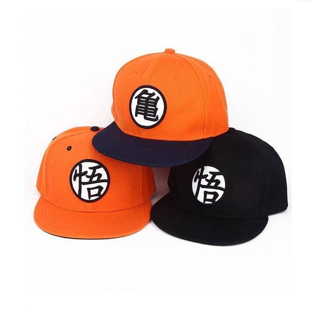 3 Estilo Rey Mono Dragon ball Z Goku Snapback sombrero plano Hip Hop  casquillos ocasionales gorra 29424052290