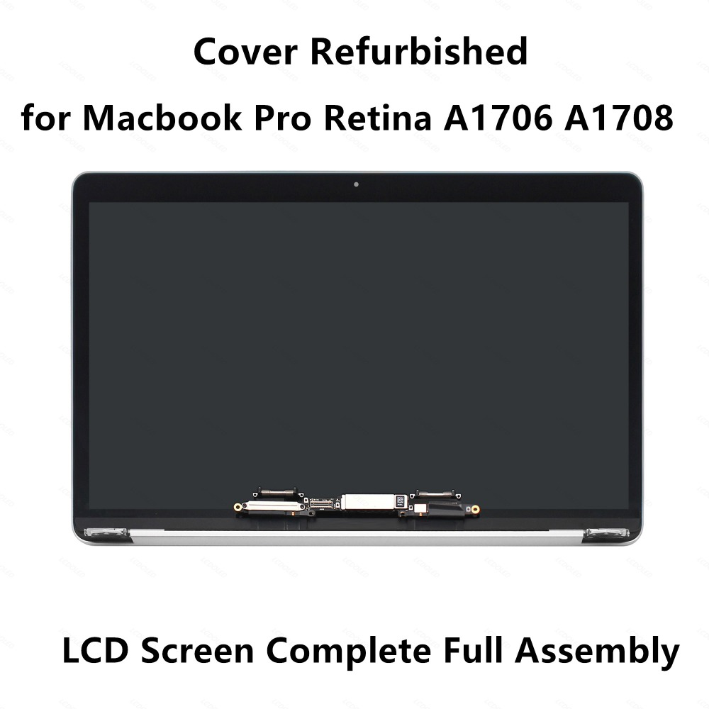 for Apple Macbook Pro Retina 13A1706 EMC 3163 A1708 EMC 2978 Complete Full LCD Screen Display Panel Assembly Cover Refurbished
