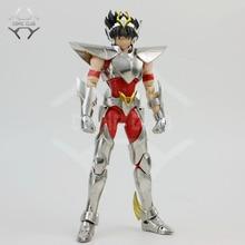 Comic club instock grandes brinquedos ex bronze saint pegasus seiya v3 metal armadura mito pano figura de ação
