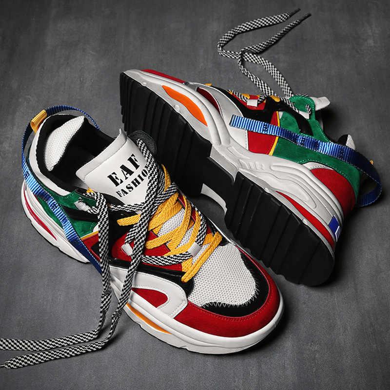 INS Vintage dad sneakers 2018 kanye