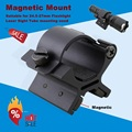 MX01 picatinny rail 25.4mm magnetic clamp laser scope mount for tactical flashlight hunting accessories shooting guns 1pc
