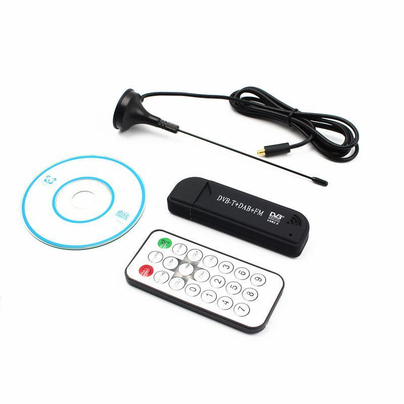 FleißIg Lumiparty Usb2.0 Fm Dab Dvb-t Rtl2832u R820t2 Rtl-sdr Sdr Dongle Stick Digital Tv Tuner Ir Fernbedienung Empfänger Mit Antenne Unterhaltungselektronik Heim-audio & Video
