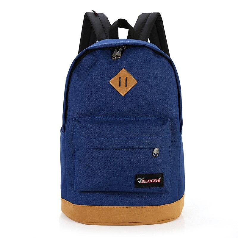 New 2017 Top Brand Cloth School Bags for Teenagers Pop Laptop Quiz Backpack Men Mochilas Sale Spanish Oxford Women's Backpacks
